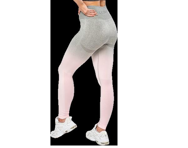 Anticelulitne Leona ženske športne-pajkice- Alisa roza material, ki koži pusti dihati.