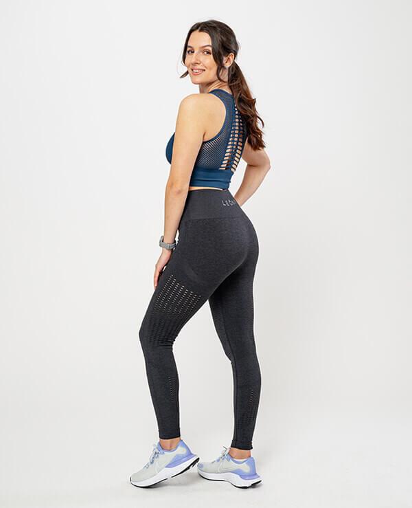 Leona-Ženske-športne-pajkice-Melina-crne-profil