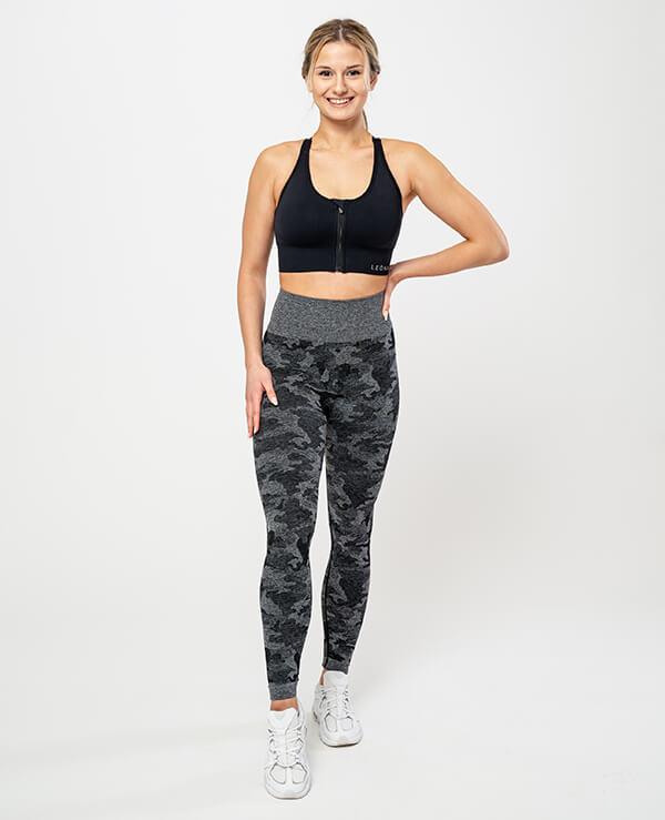 Leona-Ženske-športne-pajkice-Venera-crna-spredaj-top